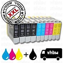 10 x Cartucho de tinta para BROTHER, es un recambio de la serie LC970 LC-970 LC970BK LC-970BK LC-970C LC970C LC970M LC-970M LC970y LC-970y