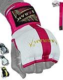 EMRAH E2 - Fasce per Mani da Boxe   Guanti Interni PRO Grip   Protezione per Supporto per Mani e Polsi   Allenamento per Arti Marziali, Pugno in Gel, MMA, Muay Thai, Kickboxing, Rosa, S