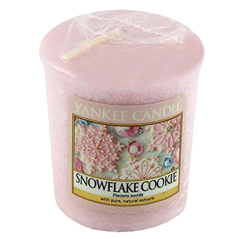 Yankee Candle Sampler Votive Candle, Snowflake Cookie