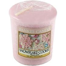 Yankee Candle - Snowflake Cookie, Candela profumata