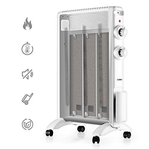 TURBRO Arcade HR1020 Heizung Mica Wärmewelle heizgerät 2000W, Elektrische Heizung mit...