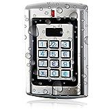 UHPPOTE Metall Wasserdichte Stand-Alone Access Keypad Wiegand 26 für 125Khz EM-ID-Karte