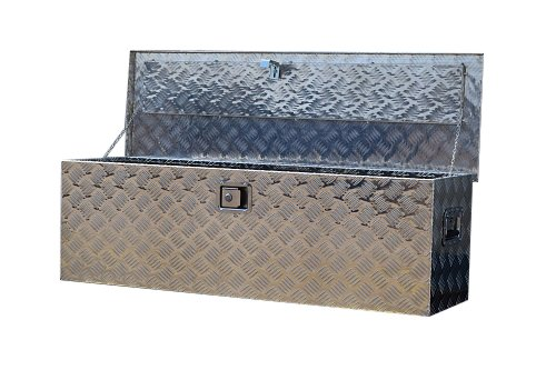 AUTHENTIC ORIGINAL US PRO TOOLS THE BEST TOOL BOXES IN THE WORLD HAND HELD PORTABLE ALUMINIUM CHEQUER PLATE JOB SITE TOOL BOX Site boxes provide security for tools and other valuable equipment left on site , building sites are prone to theft and the ...