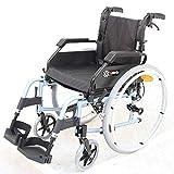 SJZC Rollstuhl Rollator Faltbar Leicht Und Klappbar Leichtgewicht Rollatoren Rolator