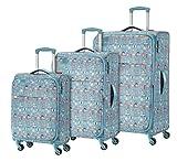 Travelite Lil'Ledy Buntes Reisegepäck/Rucksack/Kindertrolley/Handtasche/Reise Koffer-Set