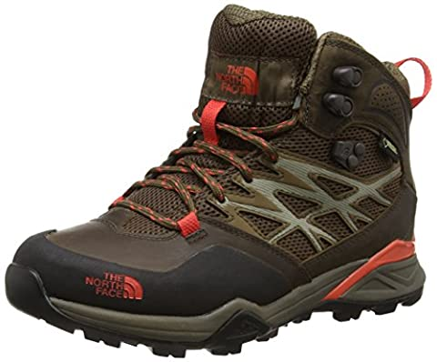 The North Face Hedgehog Hike Mid Gore-Tex, Damen Wanderschuhe, Braun