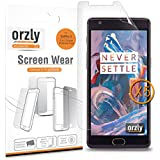 Orzly® - Multi-Pack de 5 Protectores de Pantalla para OnePlus 3 SmartPhone (2016 Version / Dual SIM Modelo Teléfono Móvil) - 5 in 1 Screen Protector Pack - 100% TRANSPARENTE