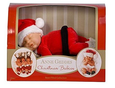 Anne Geddes Bébé - Anne Geddes 9 inch Baby Santa Doll