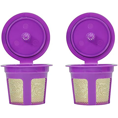 FANOR 24K Gold Reusable K Cup Coffee Filter Pod -