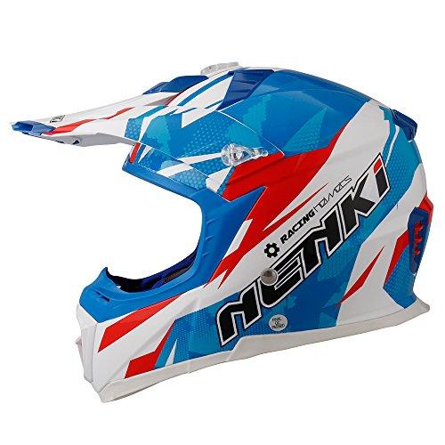 NENKI Casco Motocross NK-316 ECE approvato(M,57-58CM)