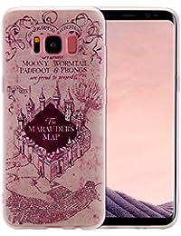 """Samsung Galaxy S8 Coque Silicone, Coque Samsung Galaxy S8 Accessoires pc, Samsung Galaxy S8 Coque anti choc, Samsung Galaxy S8 Case, Samsung Galaxy S8 Cover, Nnopbeclik® Mignonne 3D Motif Imprimé Style Soft/Doux antichoc Backcover Housse """"G950F"""" (5.8 Pouces) Peint Élégant Motif de Couleur Style Cover Antiglisse Anti-Scratch TPU étui - [a03]"""