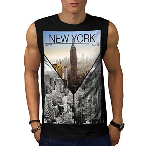 wellcoda-camiseta-de-tirantes-basico-sin-mangas-para-hombre-negro-negro-medium