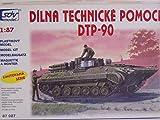 SDV Modellbau Kunststoff Modellbausatz Militär 1:87 H0 WERKSTATT Technische Hilfe DTP 90 Panzer Fahrzeuge Ostblock