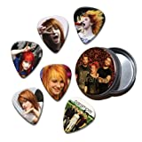 Paramore Set of 6 Loose Guitar Médiators in Tin ( Collection A )