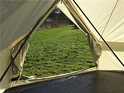 Canvastentshop Meadow tent Bell tent glamping 6 x 4M 5