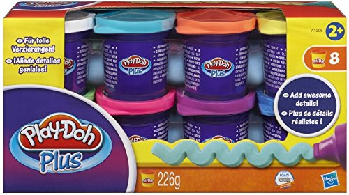 Hasbro A1206EU4 Play-Doh A1206EU4-Plus 8er Pack, Knete