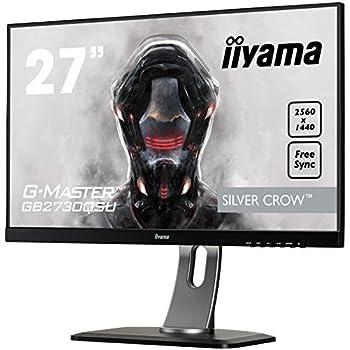 iiyama GB2730QSU-B1 27-Inch G-Master Height Adjustable Full HD TN LED Monitor - Black