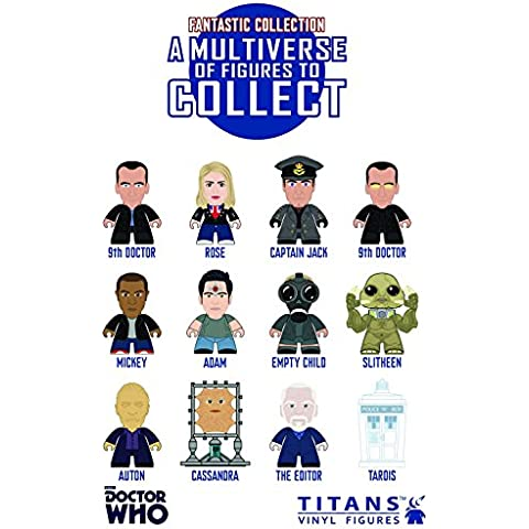 Doctor Who Display de 20 Minifiguras The 9th Doctor 'Fantastic!' Collection Titans 8 cm
