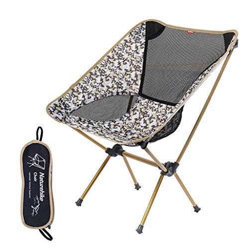 camping klappstuhl Leichte, langlebige Outdoor-Sitz - Perfekt für Camping, Festivals, Garten, Caravan Trips, Angeln, Strand, BBQs ( Farbe : 4 )