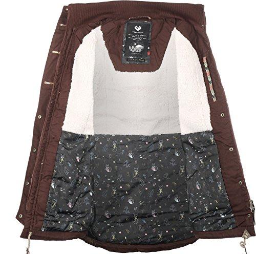 Damen Mantel ragwear Jane Coat  Größe S Braun - 3