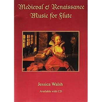 Medieval & Renaissance Music for Flute (Book & Audio CD)