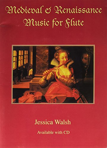 Medieval & Renaissance Music for Flute (Book & Audio CD)
