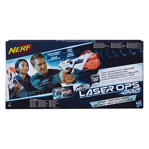 Nerf Laser Ops Pro - Pack 2 Lanzadores (Hasbro E2281EU4)