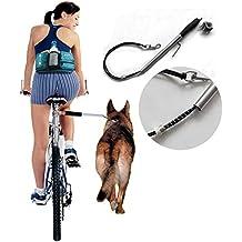 LanLan Cuerda Ajustable de la tracción de la Bici del Anillo de Cadena del Animal doméstico