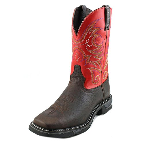 Tony Lama Sonora-TW4015 Work Boot Hommes Cuir Chaussure de Travail Chocolat