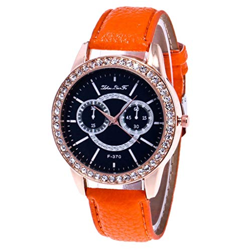Hunpta@ Uhren, Armbanduhr Watch Zhou Lianfa Mode Damenuhr Kreative Diamant Weibliche Uhr Quarzuhr