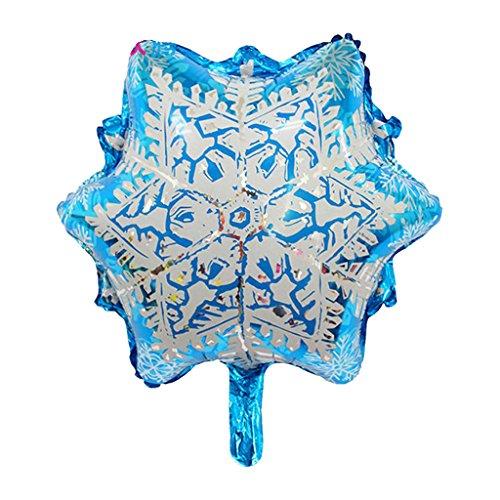 Blesiya Riese Schneeflocke Muster Latex Ballon50 X 57cm