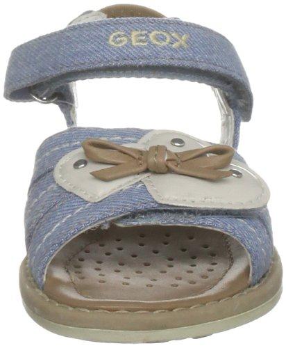 Geox Jr Sandal Giglio, Sandales fille Bleu - Jean