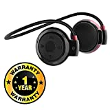 #9: Rhobos Mini 503 Universal Sports Wireless Bluetooth Headphone Stereo Music Headset Earphone with Built-in Microphone & TF Cart Slot Compatible with Xiaomi, Lenovo, Apple, Samsung, Sony, Oppo, Gionee, Vivo Smartphones (One Year Warranty)