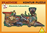 Classic Train Konturenpuzzle