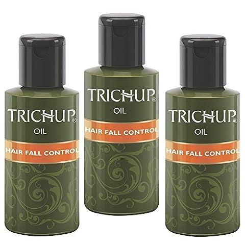 Trichup Packung mit 3 60ml Herbal Haaröl Henna Naturöl für gesunde und kräftige Haare Scalp Care Kit