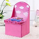 Diseño de sillas taburete de almacenamiento bolsas de juguetes del bebé