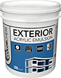 #2: Colorchem Industries Limited Exterior Acrylic Emulsion Wall Paint 20 Litre All Shade (White)