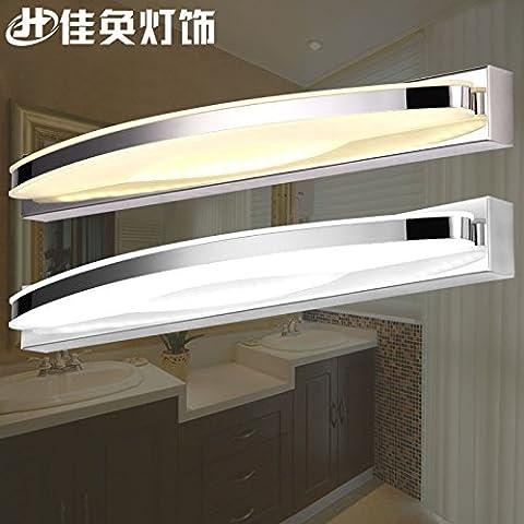 XiangMing Prima lo specchio lampada LED, semi-round) --9WLED è bianco