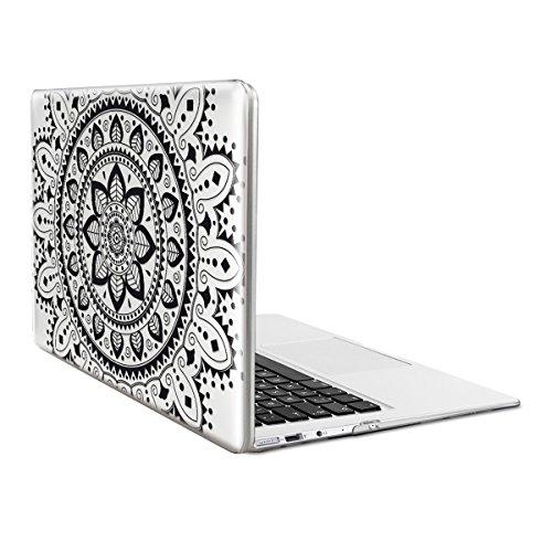 "kwmobile Laptop Hülle für Apple MacBook Air 13\"" (2011-Mitte 2018) - Crystal Laptopschutzhülle Cover Case - Transparente Notebook Schutzhülle Tasche"