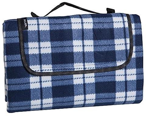 ALLWA XXX-Groß 150x200cm Outdoor-Decke - wasserdichte Unterseite Picknick-Decke - leicht