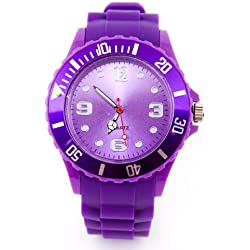 Silicone Watch Purple