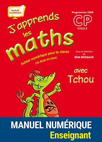 J'apprends les maths avec Tchou CP - Fichier de l'élève