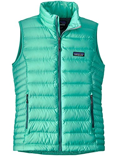 Patagonia Damen Weste Down Sweater galah green