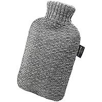 YUN Grauer Strick Rollkragenpullover Jacke Wasserinjektion Wärmflasche Handwärmer 2L preisvergleich bei billige-tabletten.eu