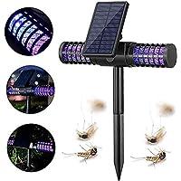 GYS Mosquito de la lámpara de luz -Solar Carga/USB, LED de plagas Killer luz UV de Alta tensión de Red para al Aire Libre Inicio Jardín Porche Patio del Patio Trasero
