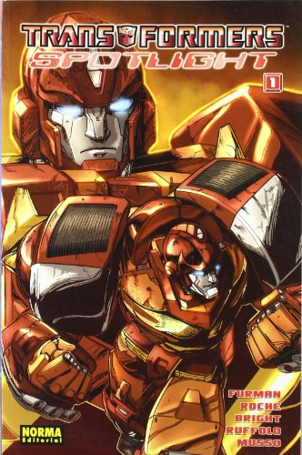 Transformers Spotlight 01 Continuidad Id (CÓMIC USA)