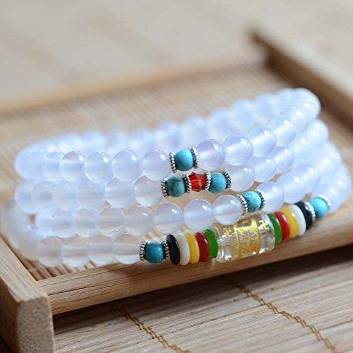HRHxue Sechs Feld Wahrheit der fünf Linien der 108 Perlen bead Buddha Armbänder hand String von Männern und Frauen