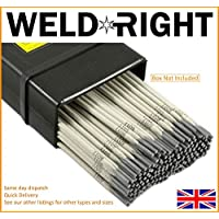 Weld Right ER316L De Acero Inoxidable Para Soldadura Por Arco Electrodos Varillas 1.6mm X 10