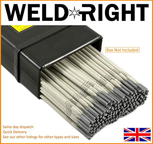 Weld Right ER316L De Acero Inoxidable Para Soldadura Por Arco Electrodos Varillas 1.6mm X 10 Varillas
