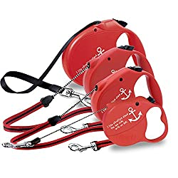 Generic Red, XL : Automatic Dog Leash Rope Led Pet Harness Retractable Dog Leash Lead Accessories Cat Collar Arnes Perro Pet Supplies 50B0099
